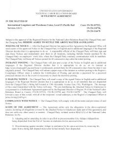 Local 23 Settlement Ageement draft 4_6_15