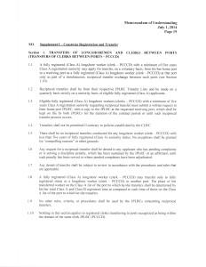 ILWU:PMA MOU Transfer rules