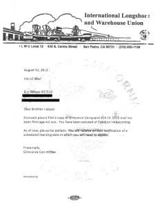 Union Complaint 19-2015