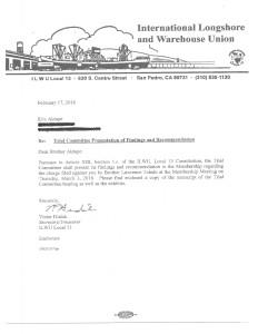 Hudak letter 2-17-16 sent with transcript inc attachments