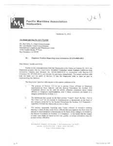Eric - PMA letter dated 11-21-12