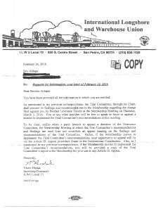 Hudak letter dated 2-26-16